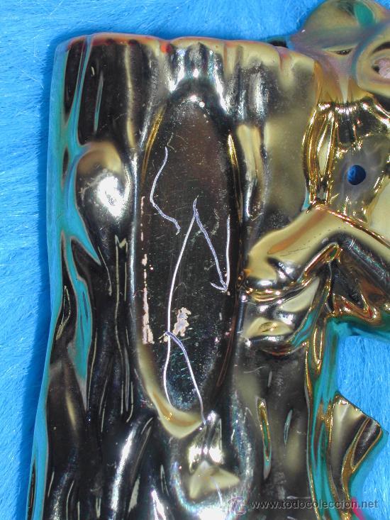 Vintage: VINTAGE / RETRO - Jarron de cerámica dorada - BAMBI - Años 60. - Foto 3 - 30528225