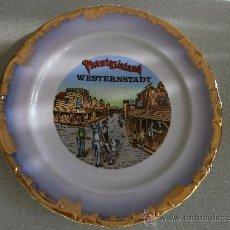 Vintage: PRECIOSO PLATO DE PORCELANA ALEMANA. Lote 30724206