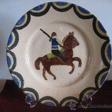 Vintage: PLATO DE REDONDA - PORTUGAL - FIRMADO.. Lote 30750218