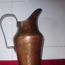 Vintage: MAGNIFICA JARRA ANTIGUA DE COBRE. Lote 31455084