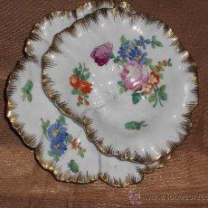 Vintage: ANTIGUA JABONERA POSADOR DE LLAVES PEGADA PORCELANA FR. P.P. 2/33. Lote 31519376