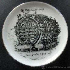 Vintage: PLATITO DE COLECCION DE LA FIRMA DE PORCELANA ALEMANA REUTTER PORZELLAN * VINTAGE. Lote 31696937