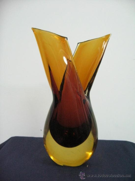 JARRON DISEÑO VINTAGE (Vintage - Decoración - Cristal y Vidrio)