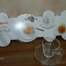Vintage: JUEGO 6 TAZAS DE CAFÉ CON PLATO. Lote 32118467
