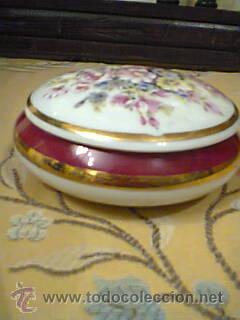 Vintage: Caja de Limoges ,año 1950,motivo floral. - Foto 2 - 32511985