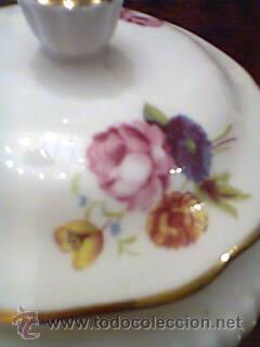 Vintage: Joyero o Caja de porcelana inglesa Bone China Royal Adderley,Floral años 70 - Foto 2 - 32991295