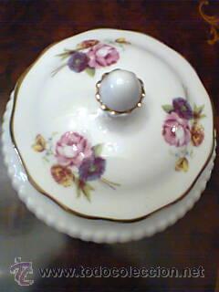 Vintage: Joyero o Caja de porcelana inglesa Bone China Royal Adderley,Floral años 70 - Foto 5 - 32991295
