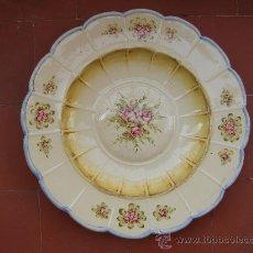 Vintage: ANTIGUO PLATO. FIRMADO VIDILER. GRAN TAMAÑO. Lote 33054900