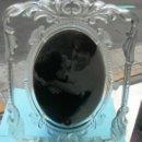 Vintage: PORTARRETRATO ALEMÁN REALIZADO EN CRISTAL. WALTHERGLAS . 36 X 30 CM. Lote 33312490