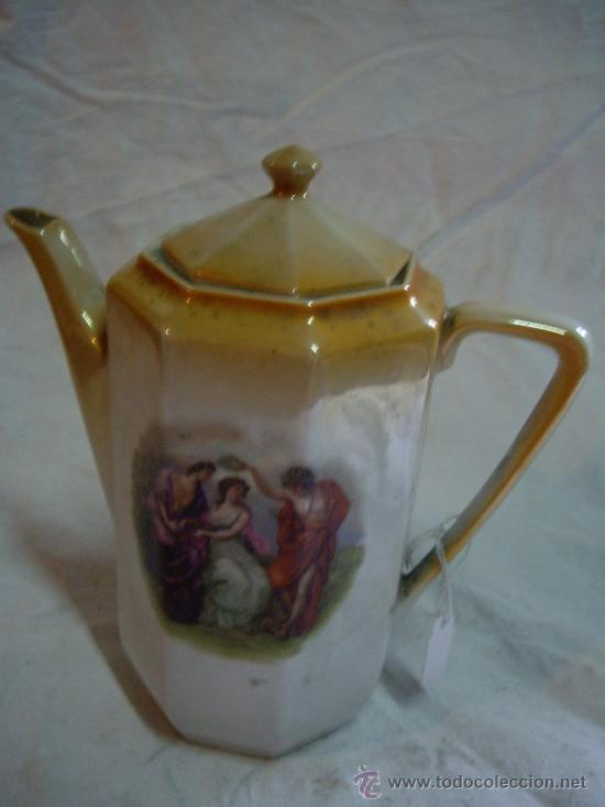 TETERA DE CERAMICA PORCELANA ENVIO GRATIS (Vintage - Decoración - Porcelanas y Cerámicas)