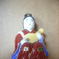 Vintage: DIOS O BUDA DE LA FORTUNA JAPONESA EN PORCELANA CHINA AÑOS 60. Lote 33725475