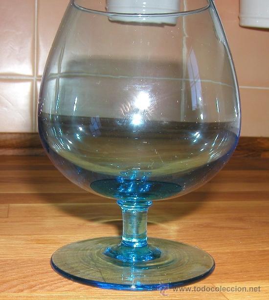 cinco grandes y preciosas copas de cristal de c comprar