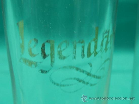 Vintage: 3 Vasos de chupitos LEGENDARIO. Altura 10´5x4 cm - Foto 3 - 34088649