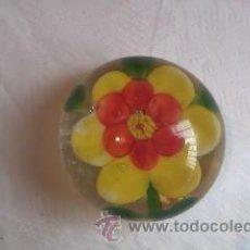 Vintage: PRECIOSO PISA PAPELES DE CRISTAL DE MURANO.. Lote 58160859