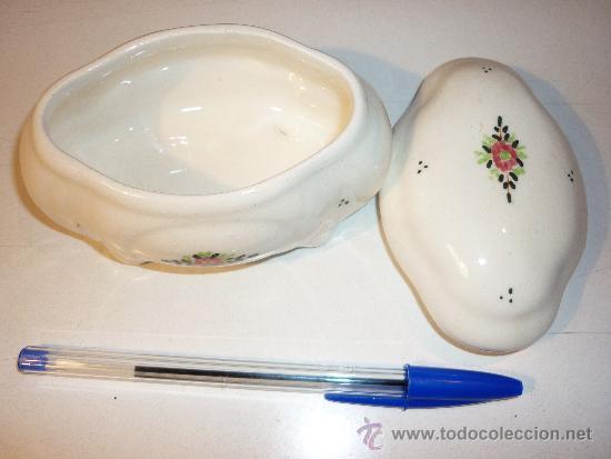 JOYERO CERÁMICA (Vintage - Decoración - Porcelanas y Cerámicas)