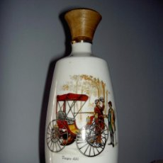 Vintage: BOTELLA COÑAC PORCELANA. Lote 34741648