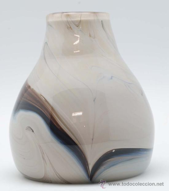 Vintage: Jarron cristal de murano efecto marmol años 50 - Foto 6 - 34923279