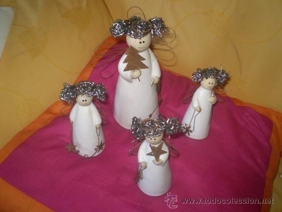 Ref 179 4 Figuras Ceramica Con Material Recicladomuy Originalesmira Medidas