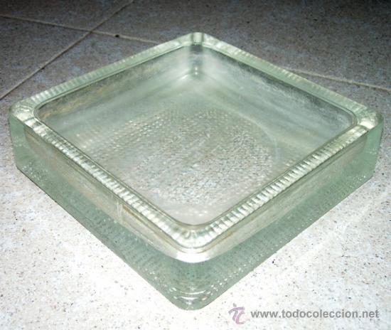 cenicero ladrillo de vidrio o cristal diseo industrial vintage decoracin