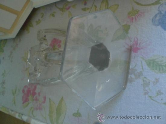 Vintage: CANDELABRO DE CRISTAL O VIDRIO - ART DECO - Foto 2 - 35752162