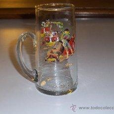 Vintage: JARRA TOREROS CO FILO DORADO BASTANTE ANTIGUA. Lote 35905118