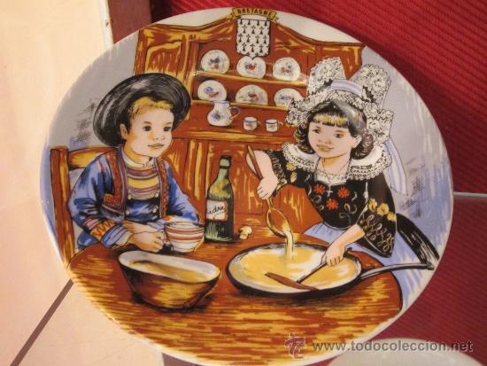 PLATITO DECORATIVO (Vintage - Decoración - Porcelanas y Cerámicas)