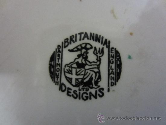 Vintage: platito ingles cuadrado - Foto 2 - 36549990