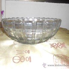 Vintage: ANTIGUA ENSALADERA DE CRISTAL TALLADO . Lote 36862922