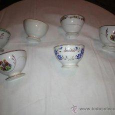 Vintage: LOTE DE 6 BOL DE CERAMICA, VARIADOS. Lote 36977453