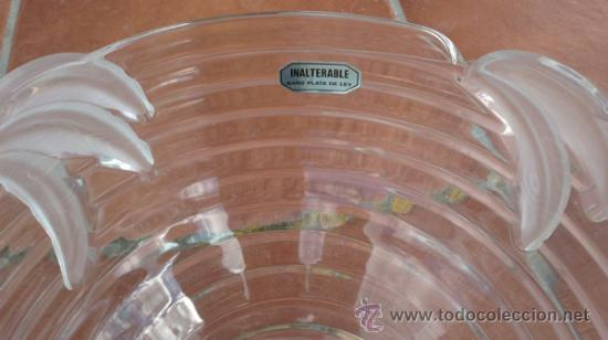 Vintage: FRUTERO WALTHER GLAS COLLECTION SIEBENSTERN. INALTERABLE BAÑO PLATA DE LEY - Foto 2 - 37032502