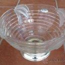 Vintage: FRUTERO WALTHER GLAS COLLECTION SIEBENSTERN. INALTERABLE BAÑO PLATA DE LEY. Lote 37032502