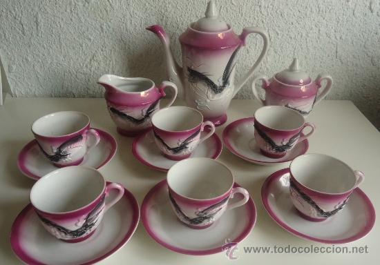 Juego de caf o t japones satsuma de 6 servici comprar - Juego para hacer ceramica ...