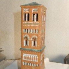 Vintage - Torre mudéjar de San Pedro ,S.XIV Teruel en ceramica vidriada realizda por L.Cruzado - 37209412