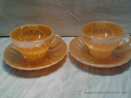 Juego de 2 tazas de te o cafe con leche tu y y comprar for Juego de tazas de te