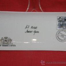 Vintage: FUENTE PORCELANA ESPAÑOLA SUREDA SIMULANDO SOBRE PHILIP MORRIS ESPAÑA. Lote 37776504
