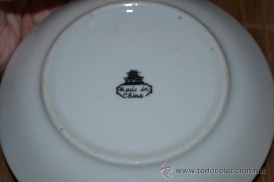 Vintage: Pequeño platillo de porcelana China - Foto 2 - 37809173