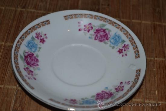 PEQUEÑO PLATILLO DE PORCELANA CHINA (Vintage - Decoración - Porcelanas y Cerámicas)
