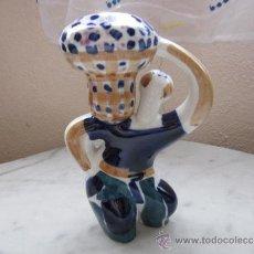 Vintage: SARGADELOS JARRON HOMBRE CON CAPAZO . Lote 38383979
