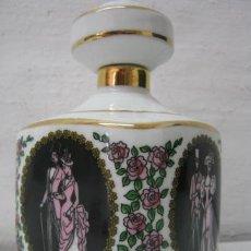 Vintage: BOTELLA PERFUMERO PORCELANA - HISTORIA DEL VESTIDO Y LA MODA - 1835 -1870- 1890 -1920 - 1960. Lote 38384300