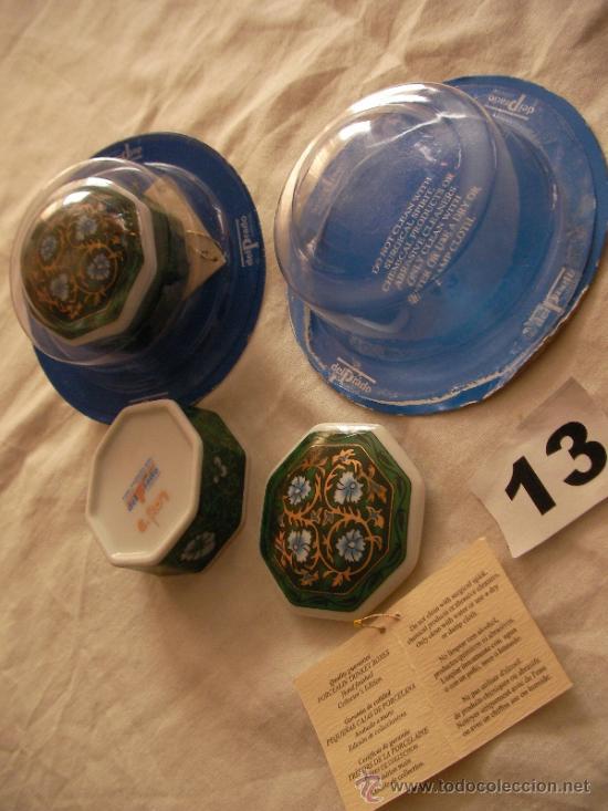 CAJA DE PORCELANA HECHA A MANO COLECCION DEL PRADO - EDICION COLECCIONISTAS - ENVIO GRATIS A ESPAÑA (Vintage - Decoración - Porcelanas y Cerámicas)