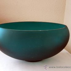 Vintage: FLORERO DE VIDRIO SOPLADO. Lote 38518682