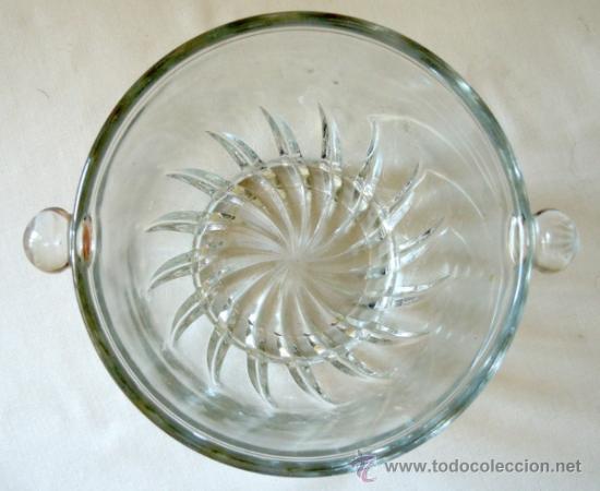 Vintage: Cubitera de vidrio soplado - Foto 4 - 38597835