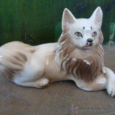 Vintage: FIGURA PORCELANA PERRO ANTIGUA TITO MADE IN SPAIN PORCELAIN OLD FIGURE DOG. Lote 38680325