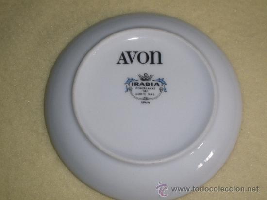 Plato De Avon Avon Llama A Tu Puerta Irabia Comprar Porcelana Y