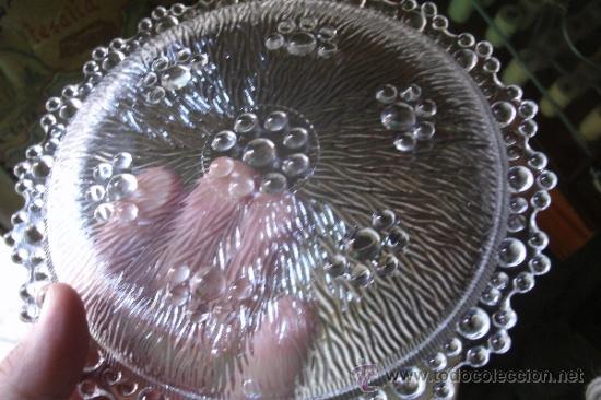 Vintage: JUEGO EN CRISTAL DE FUENTE + 6 PLATOS DE LA MARCA ITALIANA BAROCCO A. MASSERINI ABBIATEGRASSO - Foto 9 - 39241307