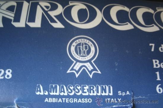 Vintage: JUEGO EN CRISTAL DE FUENTE + 6 PLATOS DE LA MARCA ITALIANA BAROCCO A. MASSERINI ABBIATEGRASSO - Foto 3 - 39241307