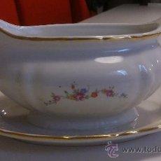 Vintage: PRECIOSA SALSERA CON SELLO DE VIGO. Lote 39245356
