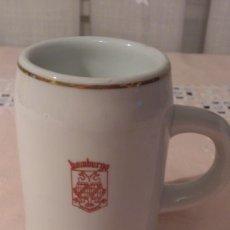 Vintage: JARRA DE CERVEZA DEL RESTAURANTE HAMBURGO DE SALAMANCA. AÑOS 60. CERÁMICA GRIFE & SCODA DECORACIÓN.. Lote 39247006