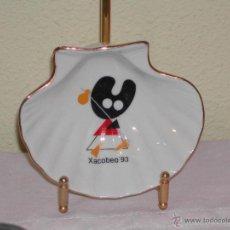Vintage - Concha Peregrino - Recuerdo Souvenir Xacobeo 93 - Mascota Pelegrin - 39347835