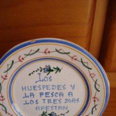 Vintage: PLATO CERAMICA MANISES. Lote 39378429